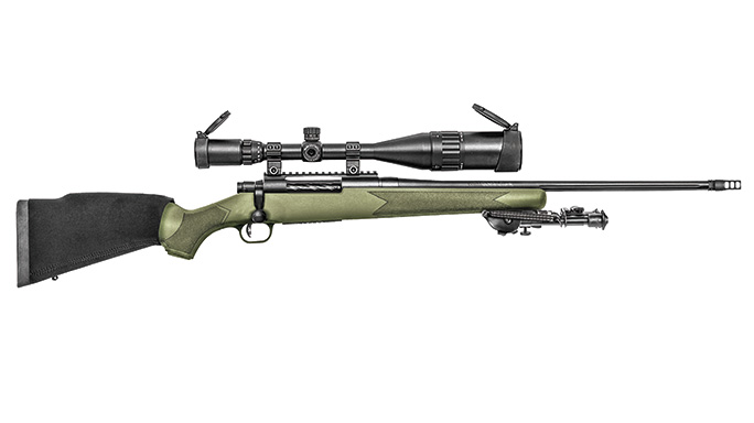 Mossberg Patriot Night Train rifle solo