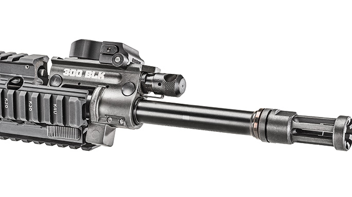 Ruger SR-556 Takedown review barrel