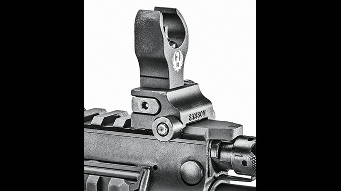 Ruger SR-556 Takedown review front sight
