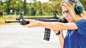 Ruger SR-556 Takedown review range