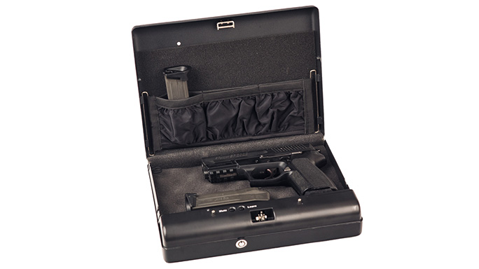 USA CCW & Firearm Training Digital Portable Firearm Vault