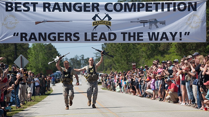 Army National Guard 2016 Best Ranger Competition