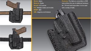 OWB Holsters DSG Arms Alpha