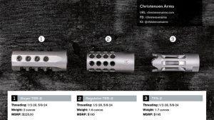Titanium Christensen Arms