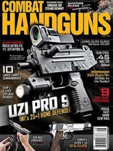 Combat Handguns August 2016 Cover