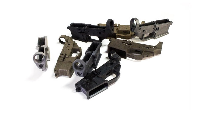 lower receiver Houlding Precision Receivers Faxon Firearms group