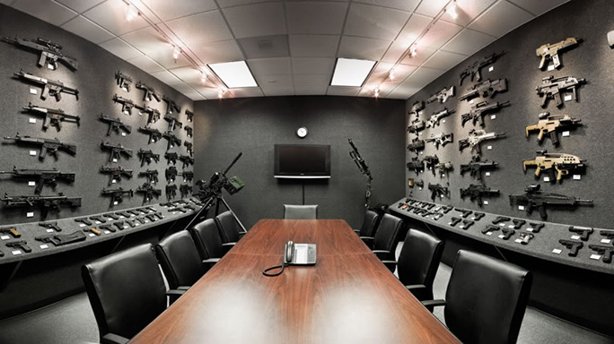Best Gun Rooms Heckler & Koch Gray Room