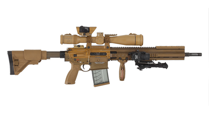 Heckler & Koch G28 precision rifle US Army