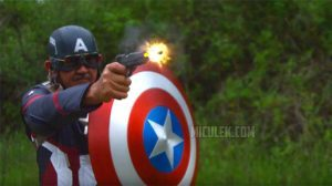 Captain America Shield Jerry Miculek