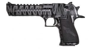 Magnum Research Black Tiger Stripe Desert Eagle
