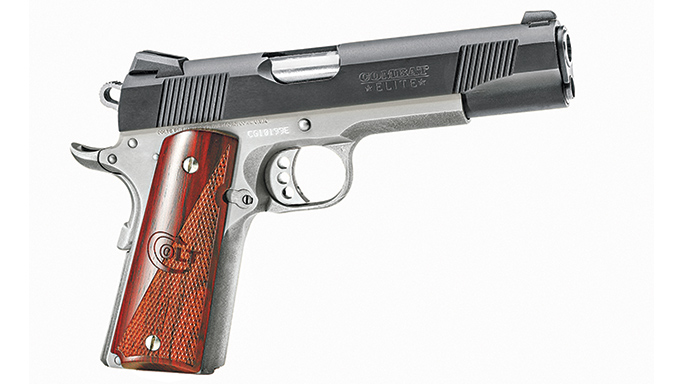 Competition 1911 Pistols Colt Combat Elite