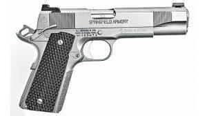 Competition 1911 Pistols Cylinder & Slide Trident