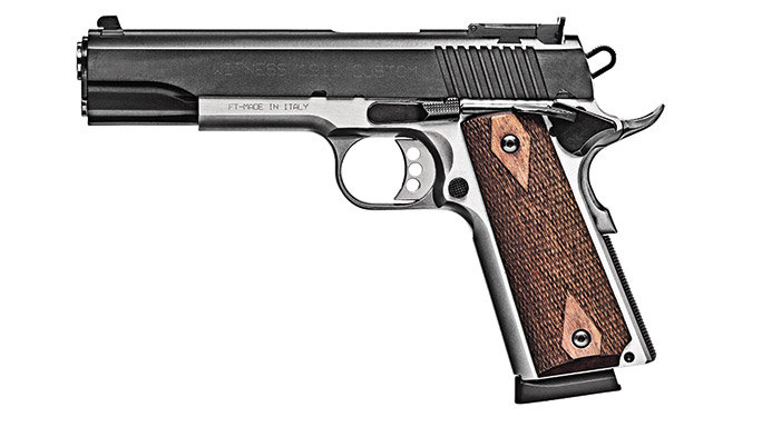 Competition 1911 Pistols EAA Witness Elite Steel 1911