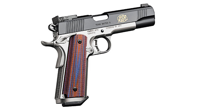 Competition 1911 Pistols Kimber Team Match II
