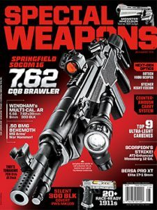 Special Weapons July/August 2016 cover