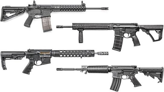 9 Lightweight AR Rifles