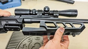 Ruger Gunsite Scout Rifle Accurate-Mag Chassis Step 3