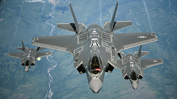 F-35A Lightning II Combat Ready US Air Force