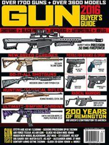 Gun Buyer's Guide 2016 cover