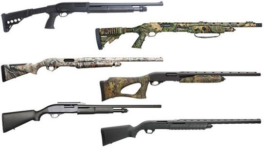 12 Reliable Pump Action Shotguns 2016