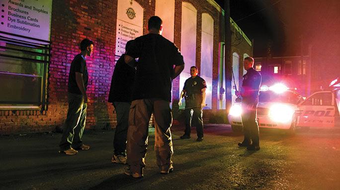 Unarmed Man Dangerous Police