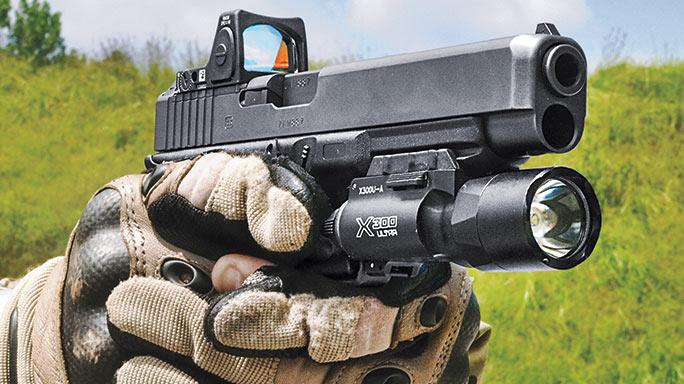 Glock G34 Gen4 MOS Pistol grip
