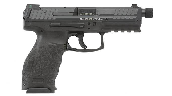 Tactical threaded barrel HK VP Pistol right