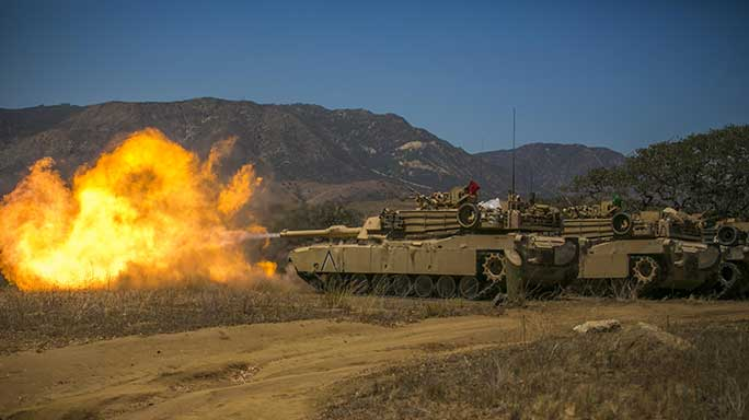 Marines M1A1 Tank Commander Weapon Station