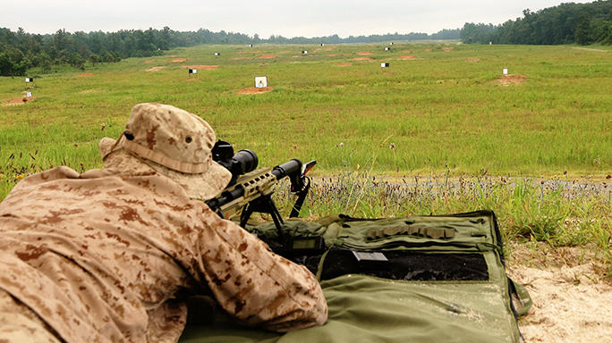 Marine Snipers future weapon systems 2016