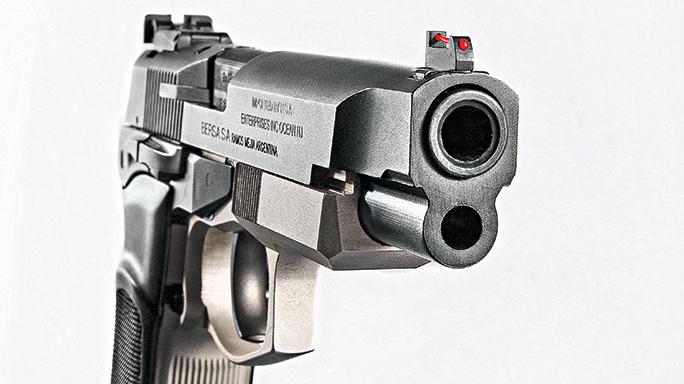 Bersa Thunder 9 Pro XT pistol barrel
