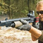 Mossberg ATI Scorpion Shotgun test lead