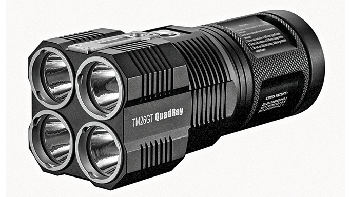 Nightcore TM26GT QuadRay Flashlight