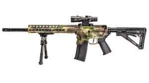 Sharps Bros .458 SOCOM Rifle test left