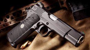 Wilson Combat X-TAC Elite 1911 Pistol lead
