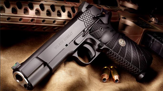 Wilson Combat X-TAC Elite 1911 Pistol left