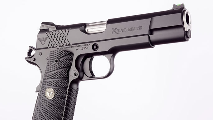 Wilson Combat X-TAC Elite 1911 Pistol right