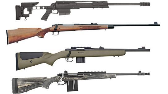 bolt-action rifles, bolt-action rifle, Bolt-action rifles