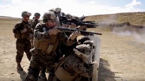 Black Sea Rotational Force Marines Riot Training 2016