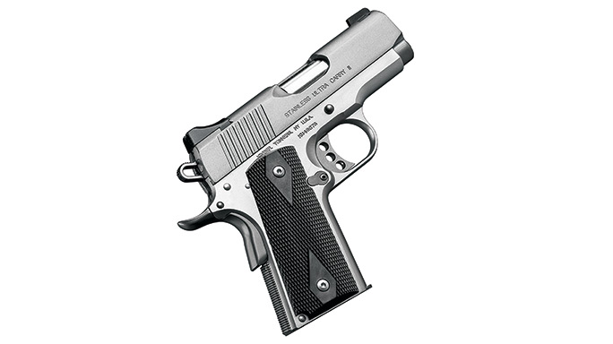Compact 1911 Pistols Kimber Stainless Ultra Carry II