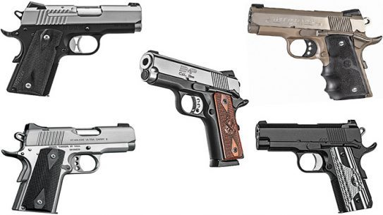 8 Compact 9mm 1911 Pistols Deep-Cover Duty