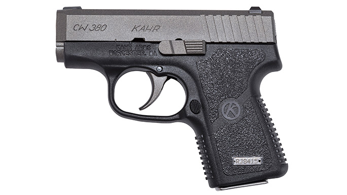 Cutting-Edge Handguns 2016 Kahr CW380 Tungsten