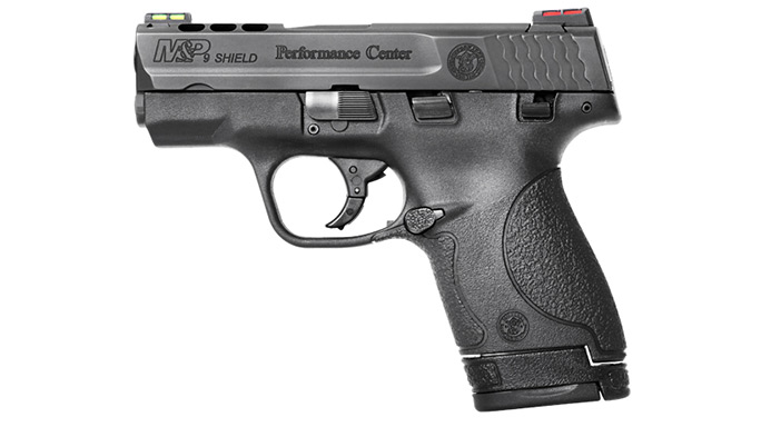 Cutting-Edge Handguns 2016 Smith & Wesson M&P Shield Ported