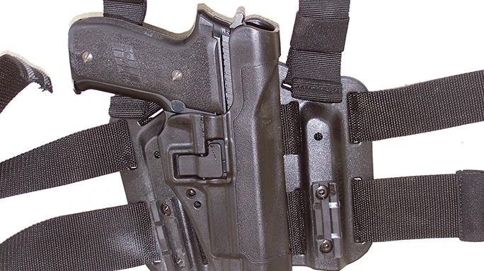 DA-SA Semi-Auto Pistol Massad Ayoob holster