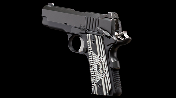Dan Wesson ECO .45 ACP Elite Carry Officer Pistol profile