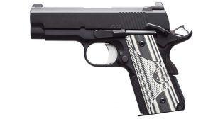 Dan Wesson ECO .45 ACP Elite Carry Officer Pistol solo