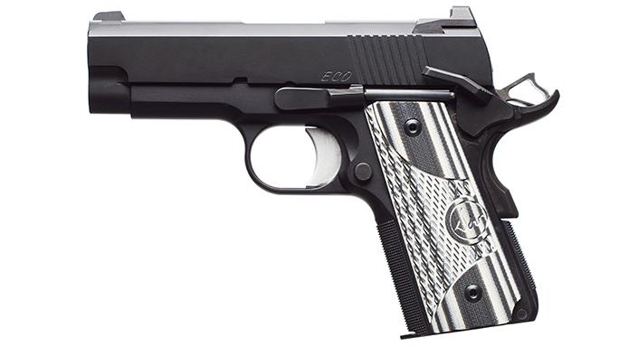 Dan Wesson ECO .45 ACP Elite Carry Officer Pistol solo