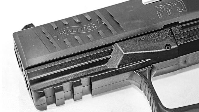 Walther PPQ 45 Pistol rail
