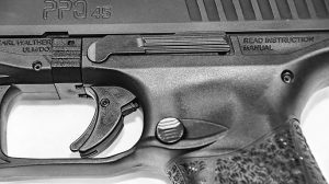 Walther PPQ 45 Pistol trigger
