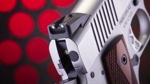 Ruger SR1911 .45 ACP Pistol Review rear sight