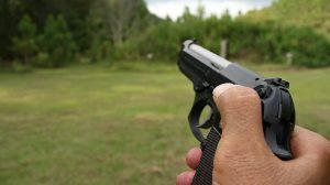 Tactical Reload Semi-Auto Pistol Step 2
